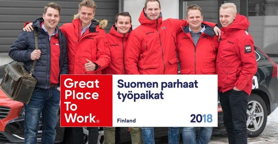 Suomen parhaat työpaikat