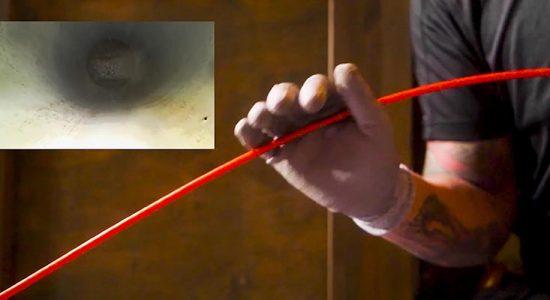viemäriä kuvataan viemärikameralla